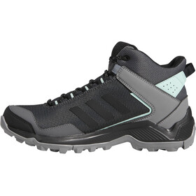 adidas TERREX Eastrail Mid Gore-Tex Zapatillas Senderismo Mujer, grey four/core black/clear mint